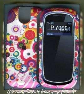 Pantech Impact P7000 Rubberized cover case designs mul