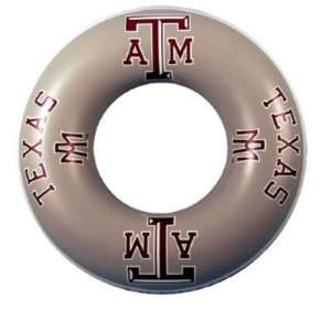 Texas A&M Aggies Inner Pool Float Tube Swim Ring 36 Inner Tube