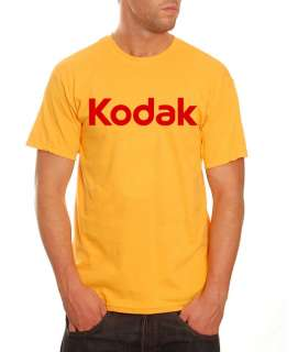 Kodak Camera Logo T Shirt Photography Cool Retro *NEW*