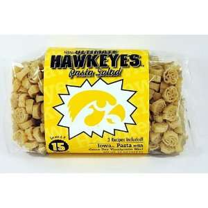 Iowa Hawkeyes Gold Hawkeye Logo Shaped Pasta: Sports & Outdoors