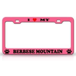 I LOVE MY BERBESE MOUNTAIN Dog Pet Animal High Quality