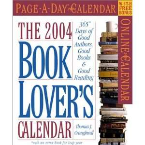 Book Lovers Page A Day Calendar 2004 (Page A Day(r) Calendars