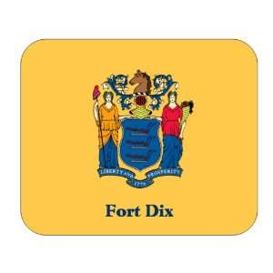 US State Flag   Fort Dix, New Jersey (NJ) Mouse Pad