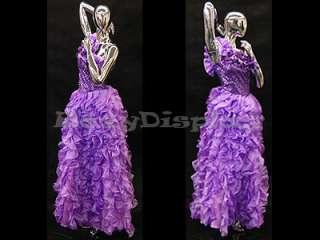 Fiberglass Mannequin Manequin Manikin Dress form Chrome Clothing