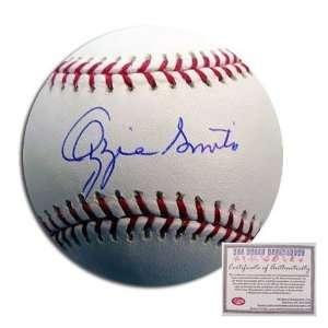 Ozzie Smith Autographed/Hand Signed Rawlings MLB Baseball