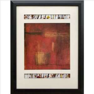 Galleries N1308 Red Opening Doors I Framed Print: Home & Kitchen