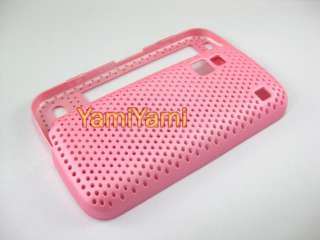 Plastic Hole Skin Protector Cover Case For NOKIA C6 00 Pink