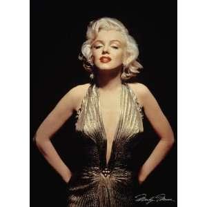 Marilyn Monroe Gold Star Poster