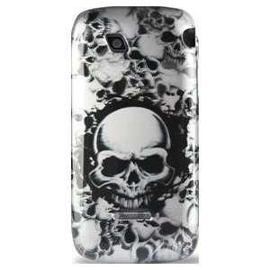 LG Marquee Optimus Black Designer case 126 Silver W/Black