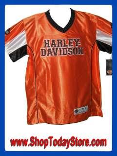 Harley Davidson Motorcycle Jersey Child Boy Girl Baseball Basketball