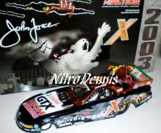 NHRA JOHN FORCE 124 Diecast NORWALK Ford NITRO Funny Car 2003