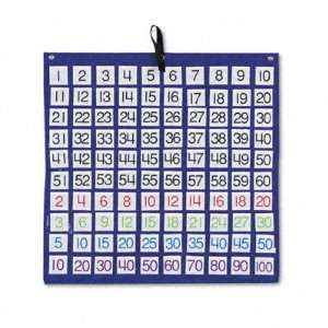 Hundreds Pocket Chart with 100 Number Cards   Colored Number