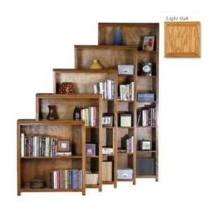Coastal 23348NGLT 48 in. Open Bookcase   Lite Oak