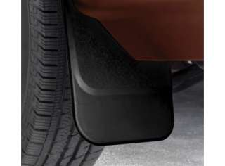 NEW OEM FLAT SPLASH GUARDS MUD FLAPS FRONT FORD LINCOLN 2007 2012
