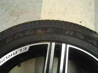 08 09 Pontiac G8 GT GXP Wheels Tires 18x8 Elbrus