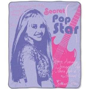 Hannah Montana Teen Idol Micro Rachel Blankets