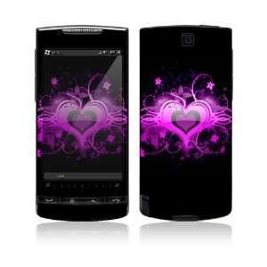 HTC Pure Skin   Glowing Love Heart