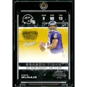 com 2007 Playoff Contenders # 8 Steve McNair   Baltimore Ravens   NFL