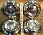 1964 64 Ford Fairlaine Dog Dish Hub Caps Wheel Covers