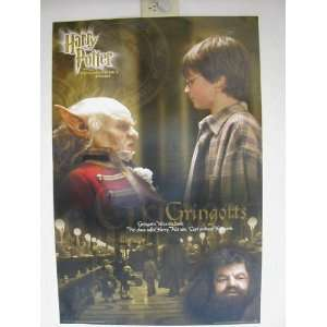 Harry Poster First Movie Poster Gringotts 23 Inches By 35 Inches