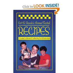 Rosies Home Tested Recipes (9780595220168) Arthur Wiederhold Books