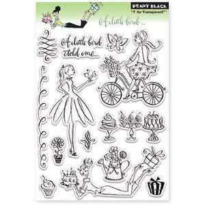 Penny Black Clear Stamps 5X7.5 Sheet A Little Bird
