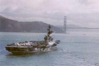 USS CORAL SEA CV CVA 43 US NAVY HAT PIN CARRIER WOW