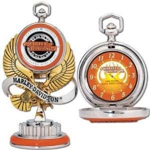 Franklin Mint Harley Davidson 1998 Dyna Wide Glide Pocket watch