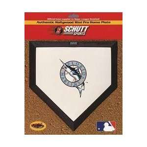Florida Marlins Hollywood Mini Pro Home Plate Patio, Lawn