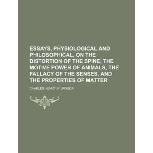 , Physiological and Philosophical, on the Distortion of the Spine