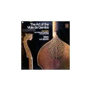 The Art of the Viola da Gamba Eva Heinitz, Malcomb Hamilton Music