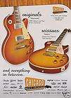 BON JOVI RICHIE SAMBORA GIBSON FLYING V / LES PAUL GUITAR PRINT AD
