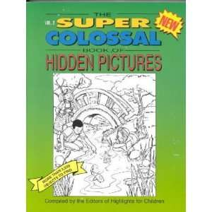 The Super Colossal Book of Hidden Pictures Not Available (NA) Books