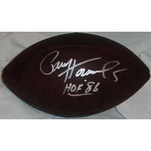 Signed Paul Hornung Ball   Duke