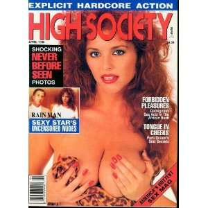 HIGH SOCIETY MAGAZINE APRIL 1990