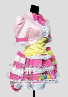 VOCALOID Hatsune Miku/ Project Diva Princess Cosplay