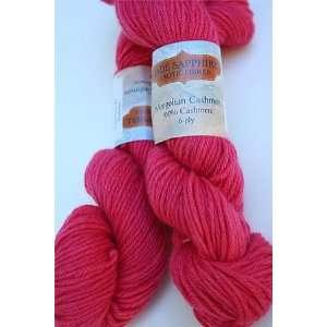 Jade Sapphire Mongolian Cashmere 6 Ply Yarn 89 Sockeye