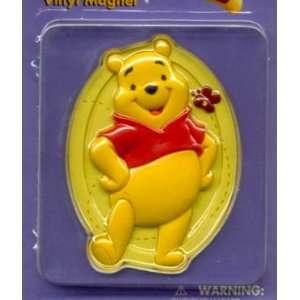 Disney Vinyl Magnet Set of 5 Winnie Pooh, Tigger, Pigglet