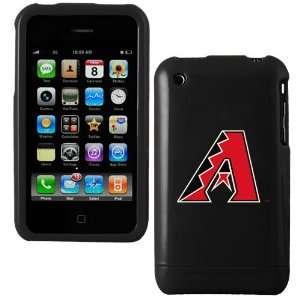 MLB Arizona Diamondbacks Black iPhone 3G Hard Snap On Case