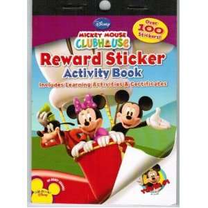 Mickey Mouse Clubhouse Mini Reward Sticker Book Party