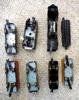 LOT vintage MARX O27 GAUGE MODEL TRAIN CARS+ENGINE+TRANSFORMER