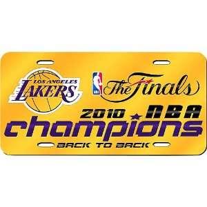 Rico Los Angeles Lakers 2010 NBA Finals Champions Laser
