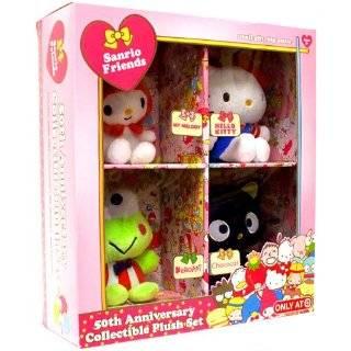 Hello Kitty Sanrio Friends 50th Anniversary Collectible Plush Set My