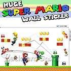 Huge Super Mario Wall Stickers Home/Office Decor Kids Room PVC US