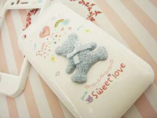 APPLE IPHONE 3G/3GS Hard Plastic Case BEAR For Couple