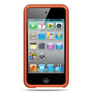 iPod Touch 4 Rubberized Hard Case   Orange