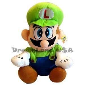 Super Mario Brothers  Luigi Plush   20 Toys & Games