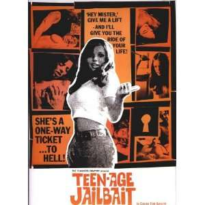 Teenage Jailbait   Movie Poster   27 x 40