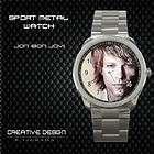 New Jon Bon Jovi Sport Metal Watch Gift Rare