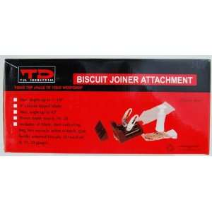 Biscuit Joiner Attachment: Home Improvement